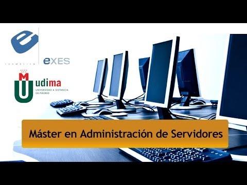 Master Administración de Servidores de Master Administración de Servidores - Título Propio UDIMA en Exes Formación
