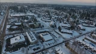 Vancouver Washington during winter season.