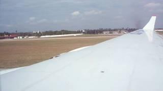 preview picture of video 'IIyushing II-96-300 Cubana de Aviacion - Landing in Habana'