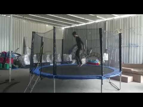 Folding Jumping Trampoline