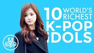 RICHEST K-POP IDOLS 2019 | TOP 10