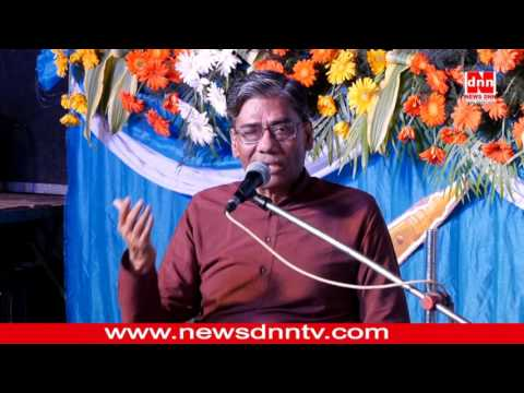 Dr Nigam Sharing Sahaja experience at seminar in Dehradun