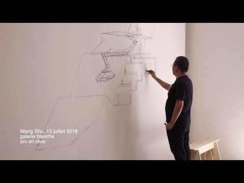 Wang Shu - Improvisation en galerie blanche