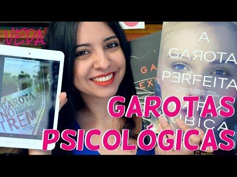 [Minha Vida  Literária] VEDA #29 | Garotas Psicológicas