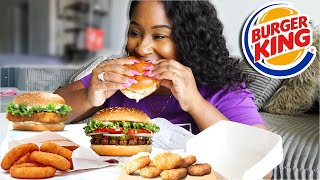 EATING ONLY BURGER KING FOR 24 HOURS!