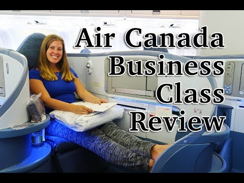 AIR CANADA BUSINESS CLASS REVIEW – 'Pod seating'