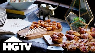 3 Easy, Crowd-Pleasing Party Appetizers - HGTV
