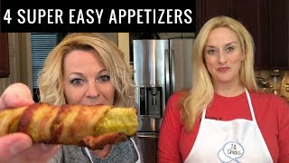4 Easy Appetizers - 4 ingredients or less