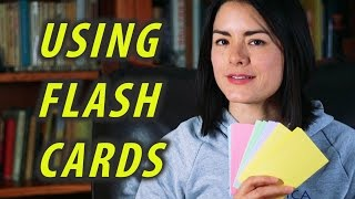 How To Use Flash Cards - Study Tips -  Spaced Repetition