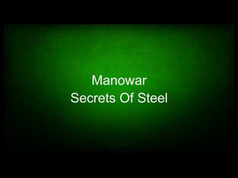 Manowar - Secrets Of Steel (lyrics)