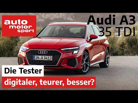 Audi A3 Sportback 35 TDI: digitaler, teurer, besser? - Test/Review | auto motor und sport
