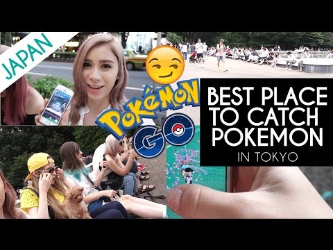 Video THE BEST PLACE TO CATCH POKEMON IN TOKYO