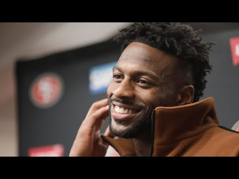 49ers Wide Receiver Emmanuel Sanders on 48-46 win vs. Saints