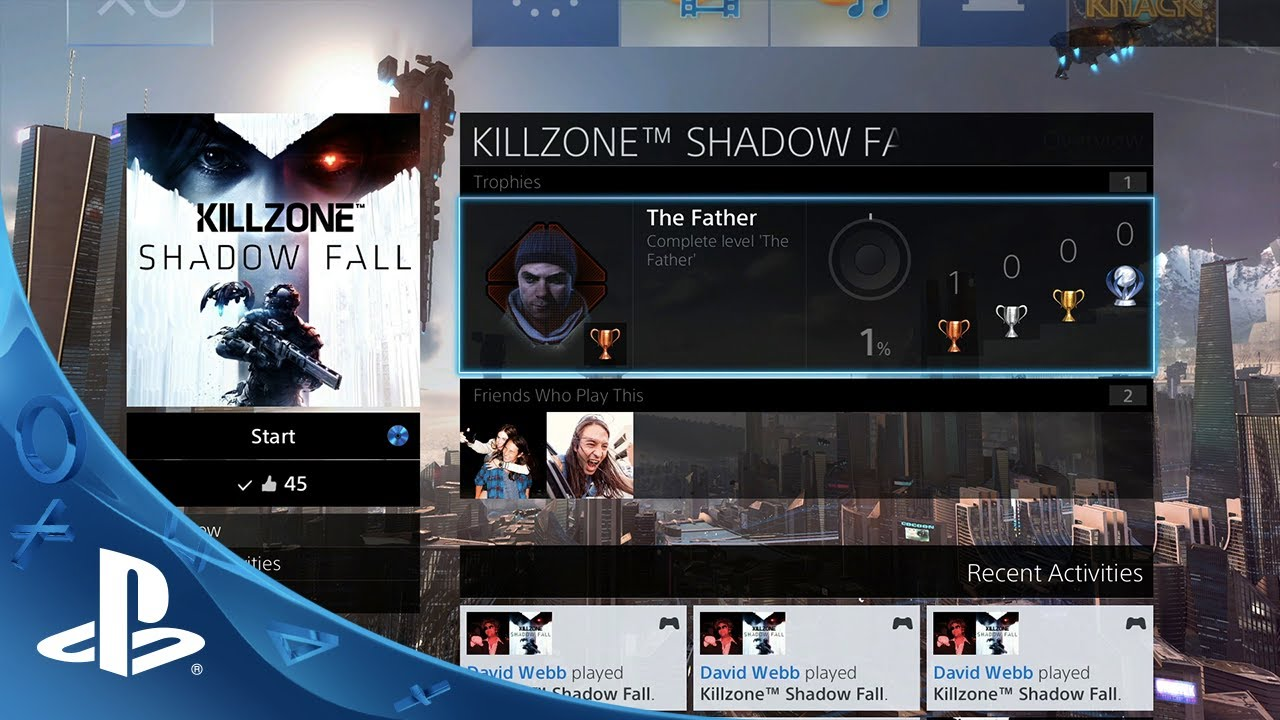 First Look: PS4's New UI Revealed