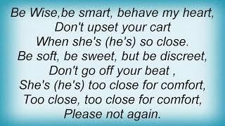 Eydie Gorme - Too Close For Comfort Lyrics
