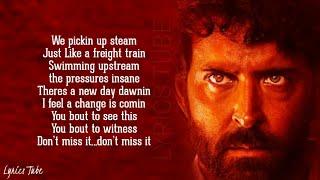 Unstoppable Now - Super 30 | Hrithik Roshan | We are unstoppable now | Lyrics