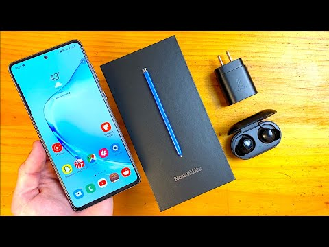 External Review Video p33ch9tVg7o for Samsung Galaxy Note 10 Lite Smartphone