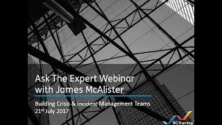 Building Crisis & Incident Management Teams
