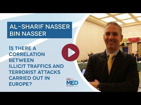 #MED2019 Al-Sharif Nasser Bin Nasser - The correlation between illicit traffic and terrorist attacks