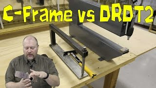 RV-10 Extra - C-Frame vs DRDT2 vs Squeezer / Impact vs Compression Dimples
