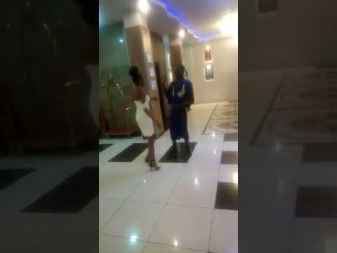 Nairobi Diaries Actor Trap King Chrome #Exposed Walking Naked In A Lobby With Mysterious Lady