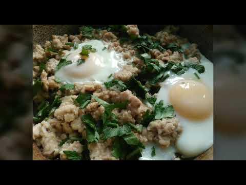 Очередная вкусняшка из фарша и яиц