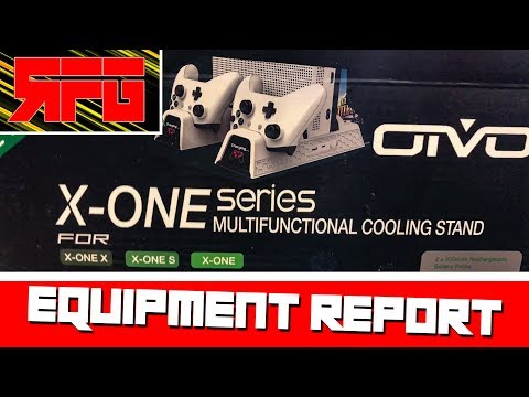 EQUIPMENT REPORT | OIVO Vertical Cooling Charging Stand for Xbox ONE | RELATIVE FORCE GAMING