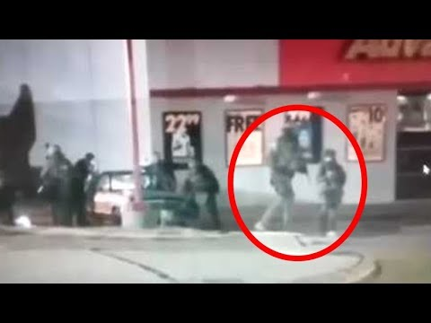 An Actual Giant Nephilim Soldier Caught On Camera In The U.S?