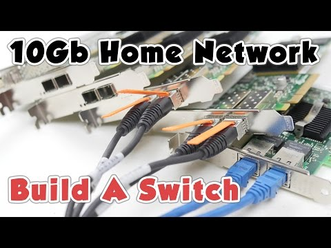 10Gb Home Network (P3) – Build A Switch