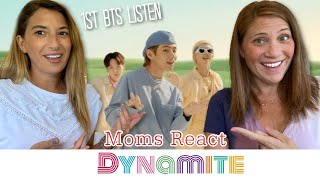 MOMS REACT to BTS 'Dynamite' - First Time K-Pop Reaction