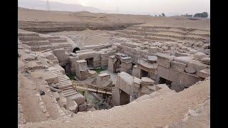 Megalityczny Egipt Wykopaliska pierwszej części Osiriona-nagranie w j.rosyjskim