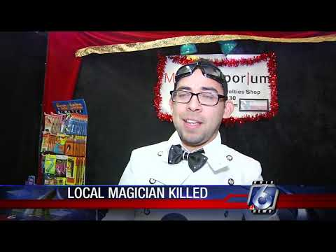 Magician Valdino killed in San Marcos wreck