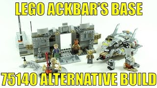 LEGO STAR WARS 75140 ALTERNATIVE BUILD ACKBAR'S BASE