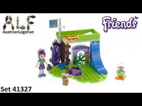 Vidéo LEGO Friends 41327 : La chambre de Mia