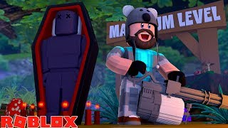 Level 200 Defeating Demon Overlord Boss Roblox Zombie Attack