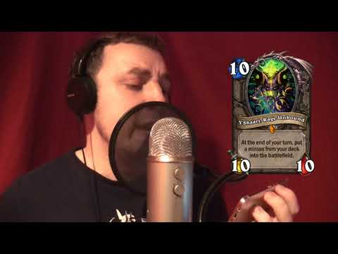 Impersonating Every Hearthstone Minion (INCLUDING THE FEMALES!!)