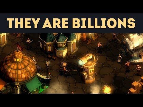 СТРИМ НА ДР! - They Are Billions. 50 дней челлендж. Тушите свет!