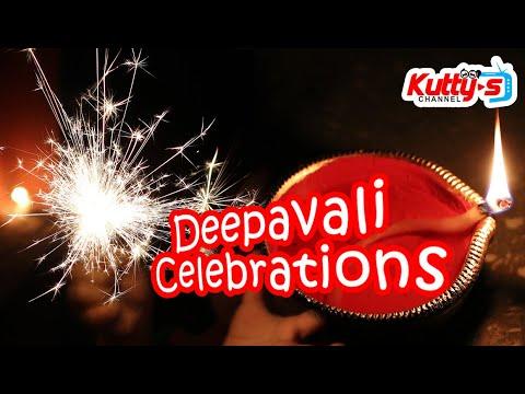 Deepavali Celebrations Tamil kids vlog | Kuttys Channel Tamil Pasanga