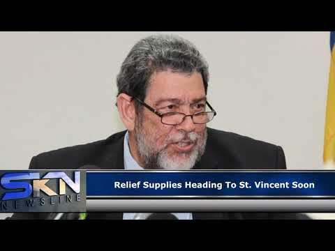 Relief Supplies Heading To St Vincent Soon