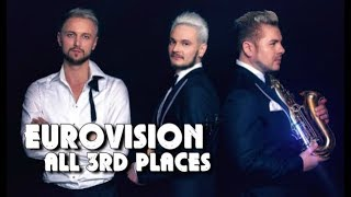 Eurovision All 3rd Positions (1957 - 2018)