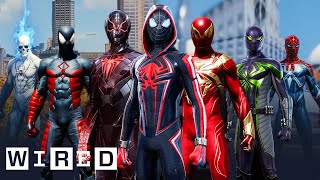 Every Spider-Man Suit From Marvel's Spider-Man: Miles Morales & Spider-Man Explained | WIRED