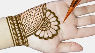 Easy Beautiful Mehndi - Mehndi Design Easy And Beautiful - Arabic Mehndi 2019