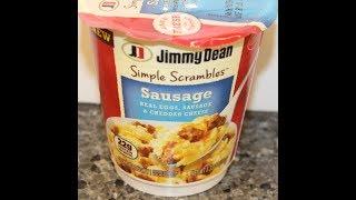 Jimmy Dean Simple Scrambles: Sausage Review