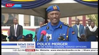 CS Matiang'i presides over AP, Kenya police merger to form one entity