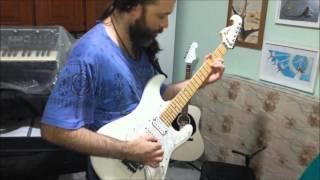 S. FERRAZ GUITAR PROJECT - Ensaio teste Guitarra Tagima