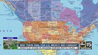 Changes in NAFTA could make Arizona a big winner...or a big loser