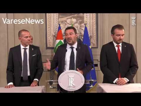 """Salvini: """"Se si vuole far ripartire il governo noi ci siamo"""""""