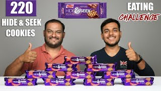 HIDE & SEEK BISCUITS EATING CHALLENGE | Chocolate Chip Cookies Eating Competition | Food Challenge