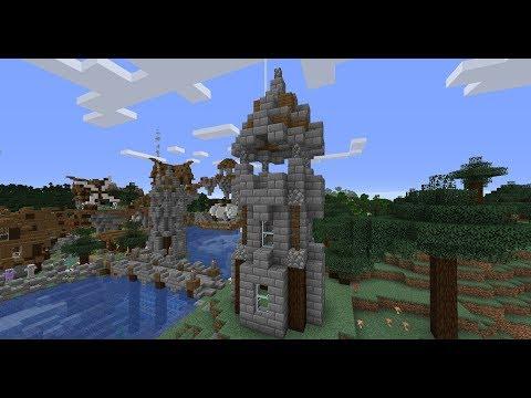 Medieval Tower Tutorial Minecraft Map