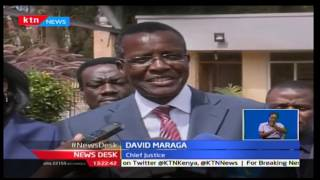 KTN Newsdesk 18th November 2016 - Chief Justice Maraga tours Kakamega County